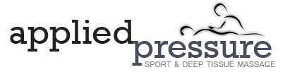 Applied Pressure | Sport & Deep Tissue Massage